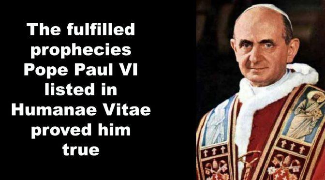 Enzyklika Humanae Vitae wegweisend für Synode Ehe und Familie