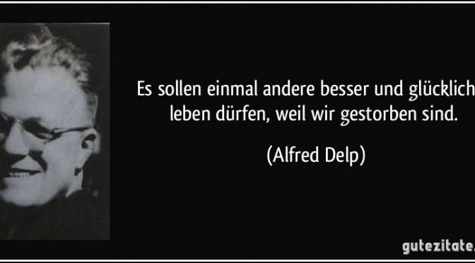 Alfred Delp engagierte sich für die katholische Soziallehre
