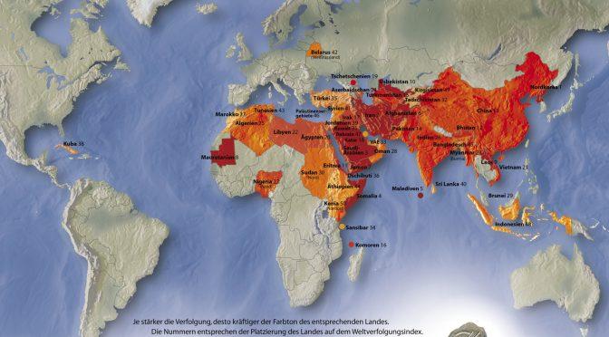 Menschenrecht Religionsfreiheit für fünf Milliarden bedroht