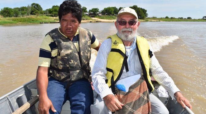 Tiefgläubige, katholische Indianer-Gemeinden am Rio Paraguay